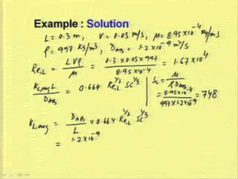 Mod 02 Lec 04 Boundary Layer Theory And Film Theory In Mass Transfer