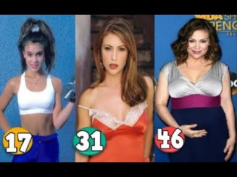 Alyssa Milano ♕ Transformation From 01 To 46 Years OLD