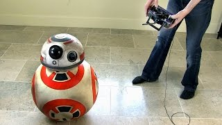 XRobots - Working Star Wars BB-8 droid Prototype PART 5, Improving Stability
