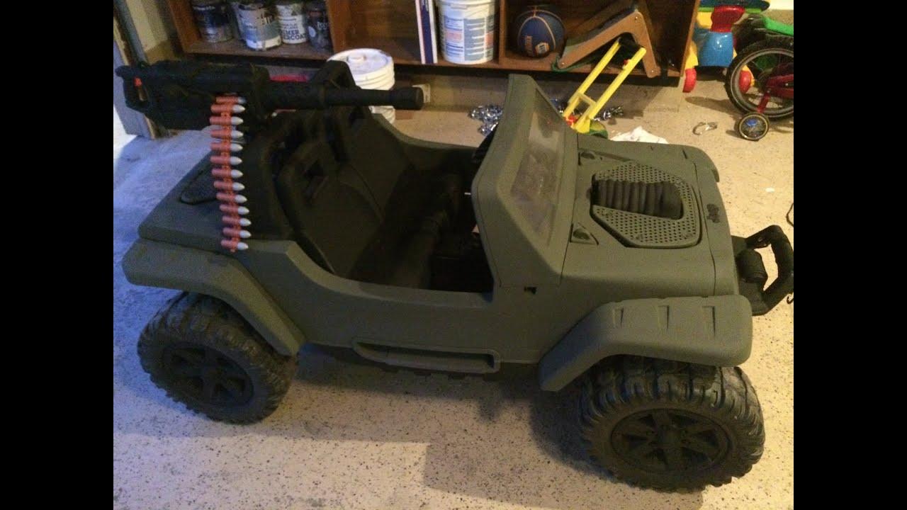 Power Wheels Jeep Hurricane Modification - YouTube