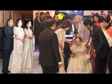 Nita Ambani Shows Respect For Dhirubai Ambani's Wife Kokilaben At Daughter Isha Ambani's WEDDING thumbnail