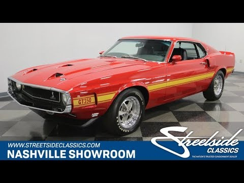 1970 Ford Mustang Shelby Gt350 For 955 Nsh