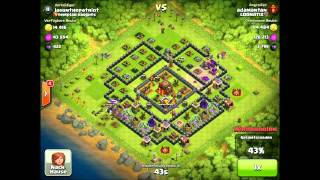 Loonatix Video #1 - Balloonion Strategy (Miniballs) Balloons and Minions Clash of Clans