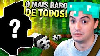ENCONTREI O PANDA MARROM!!! MINECRAFT #48