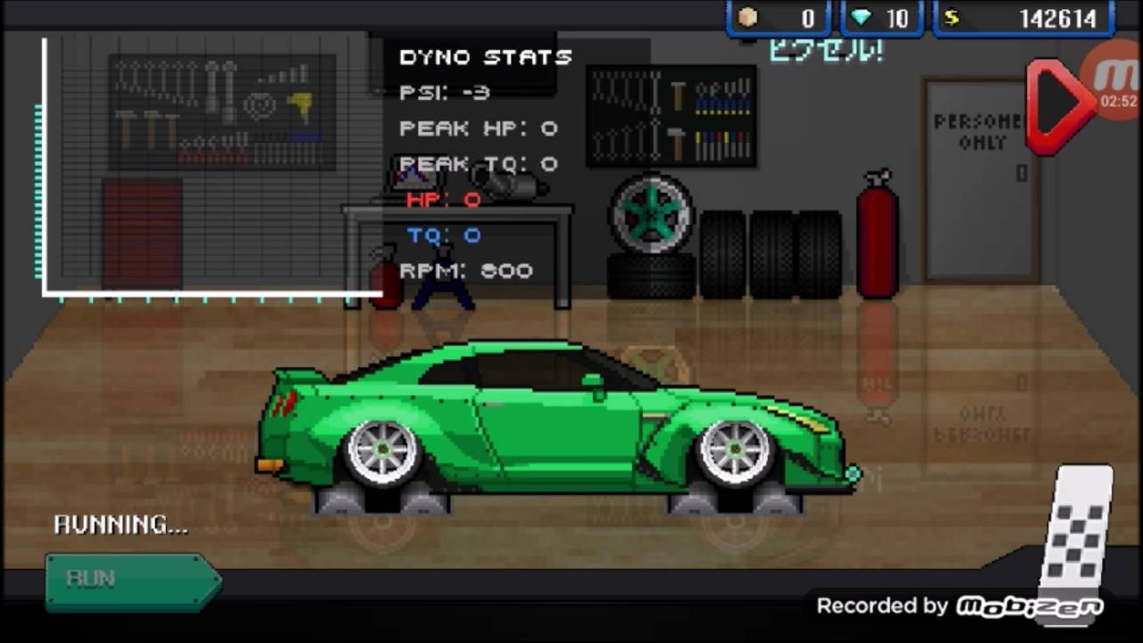 Mtfuji In Pixel Car Racer Gameplay T Car Racer Engine