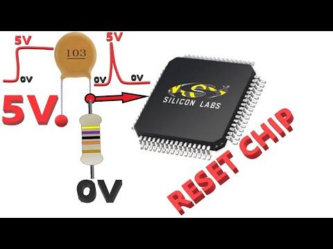 Chỉ Cần Hai Linh Kiện Điện Trở +Tụ Điện Có Thể Làm IC Vi Xử Lý  Bị Reset|Lớp Học Điện Tử Chuyên Sâu