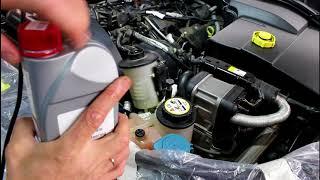 Замена масла и бачка гидроусилителя Land Rover Discovery 3 Ленд Ровер Дискавери 3
