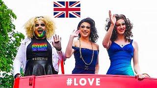 РУССКИЕ ДЕВУШКИ на ГЕЙ Параде ЛГБТ / PRIDE PARADE 2018 UK