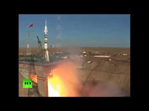 Показательный старт ракеты