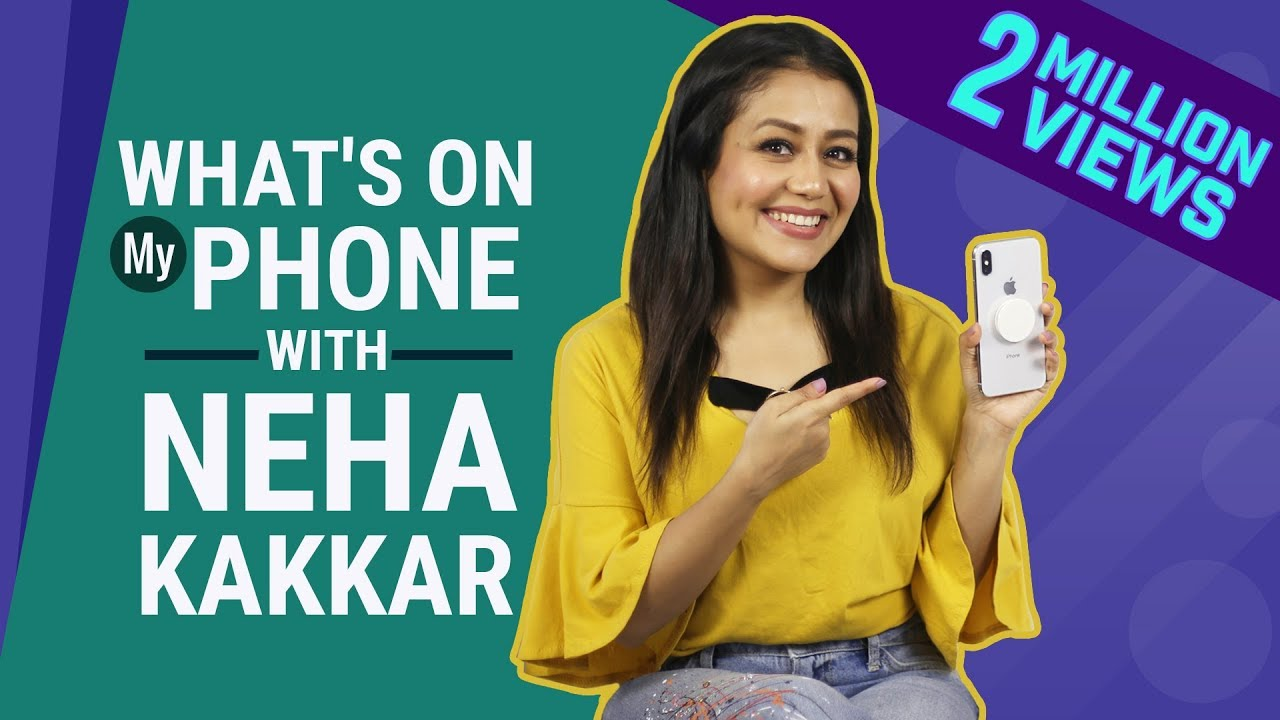 Neha Kakkar: What's on my phone | Fashion | Lifestyle | Pinkvilla | Nikle Currant Remix