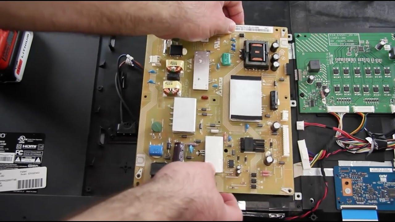 [SCHEMATICS_4ER]  Vizio E550i-B2 & M552I-B2 TV Has Sound But No Picture Repair Fix - Power  Supply Replacement - YouTube | Vizio Tv Wiring Diagram |  | YouTube