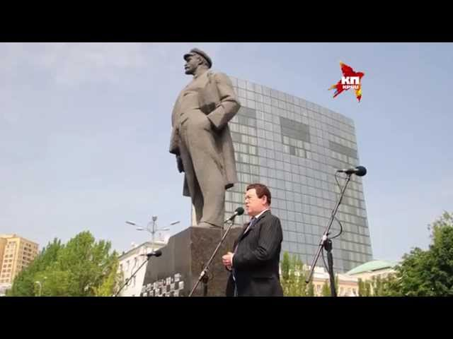 Приезд Иосифа Кобзона в Донецк