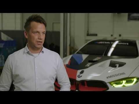 Light technology on BMW M8 GTE