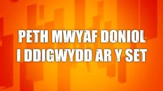 Cwestiynau Cyflym Gareth | Pigo dy Drwyn