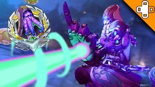 GRANDMASTER PLAYS! SICK AIM! Overwatch Funny & Epic Moments 443