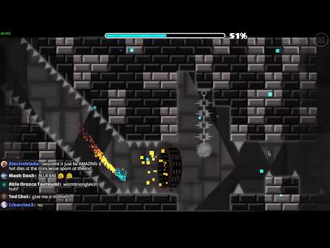 [60hz] Acropolix 100% (Insane Demon) - On Stream | Geometry Dash