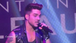 ADAM LAMBERT Is This Love? Riff & Kickin