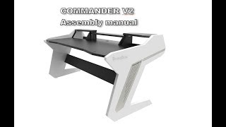Commander V2 Series - Assembly manual