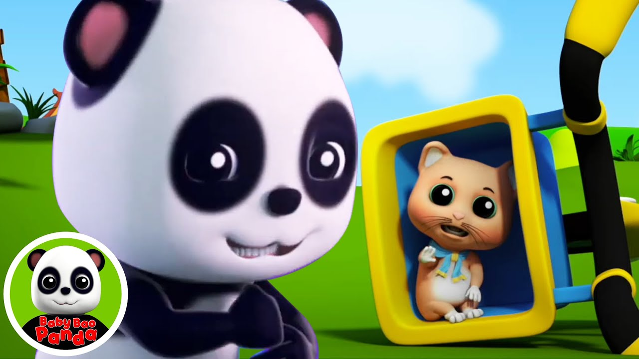 Rig A Jig Jig | Nursery Rhymes and Baby Song | Songs For Kids with Baby Bao Panda