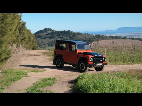 Land Rover Defender 90 – The Adventure Of A Legend