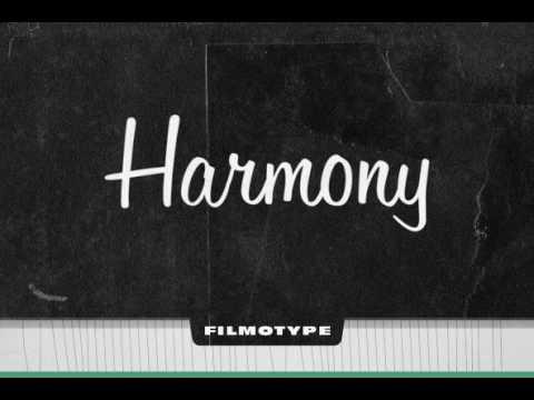 Filmotype Harmony Font Download