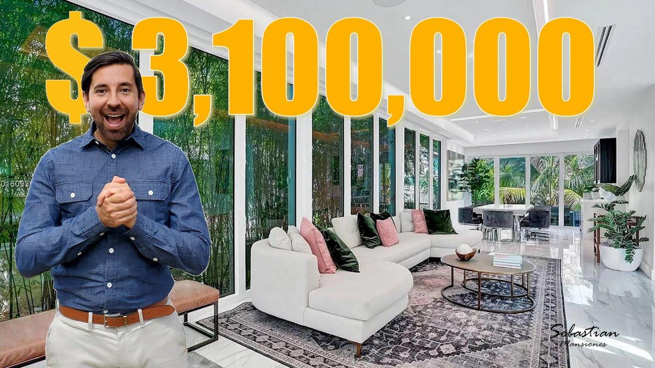VENDO PROPIEDAD DE LUJO Para Vivir En El Corazon De Miami Beach Por Solo $3,100,000 De Dolares