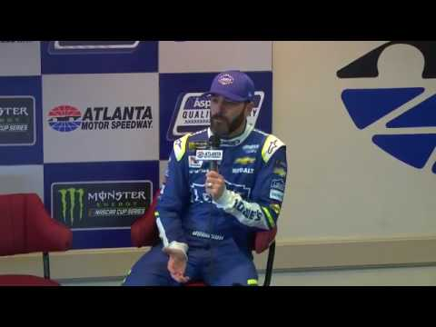 2017 NASCAR Atlanta Jimmie Johnson and Lilly Diabetes Q&A
