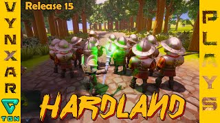 Hardland - Release 15 - NPC conscription, UI improvement & more