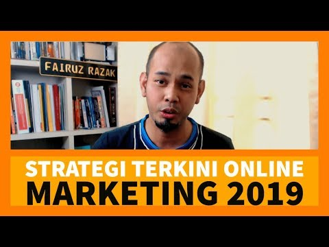 Strategi Online Marketing 2019 Yang Saya Akan Gunakan Tahun ini…