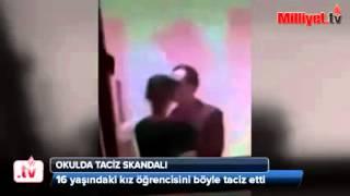 Okulda taciz skandal Videosu