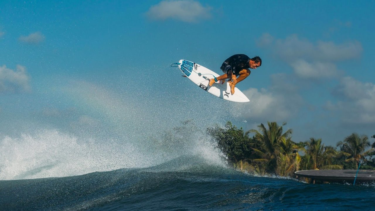 "Julian Wilson's Surfing is on Fire in ""Wayward"""