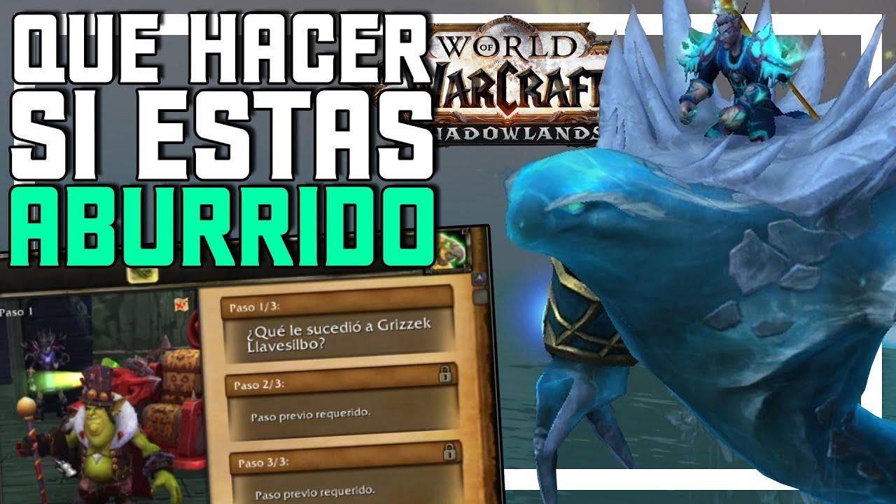 Qué Hacer en World of Warcraft Cuando estás Aburrido