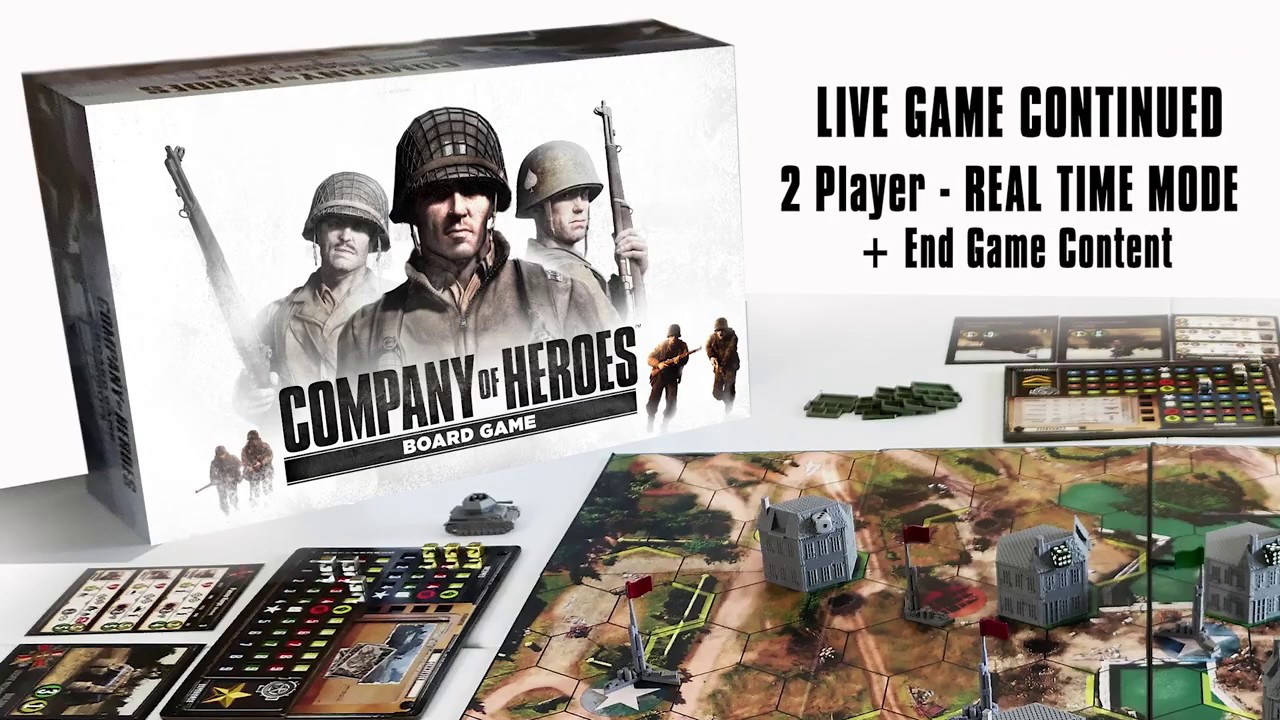 Company Of Heroes Board Game By Bad Crow Games Kickstarter