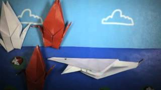 Origami Stop Motion Animation