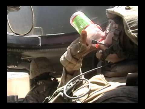 "Iraq is so fricken hot! USMC Infantry in combat patrols, ""Weapons 1/5"""