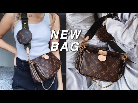 LOUIS VUITTON MULTI POCHETTE REVIEW | HOW TO WEAR!
