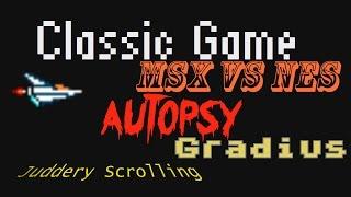 Gradius: MSX Vs. NES Scrolling - Classic Game Autopsy