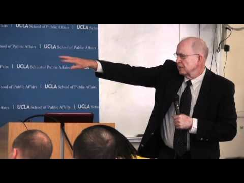 James C. (Buddy) Howell speaks on gangs at UCLA