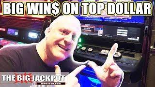 HUGE WIN$ on Top Dollar Slots | The Big Jackpot