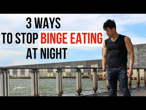 3 ways to stop binge eating at night while dieting