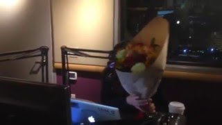 DC Surprises Miss Kimmie & Sana G with Flowers for Valentine