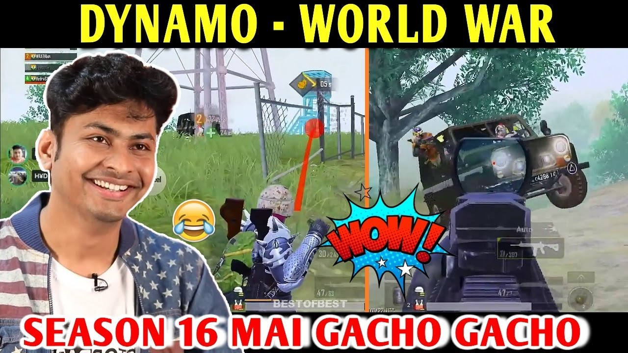 DYNAMO - WORLD WAR | PUBG MOBILE | BEST OF BEST