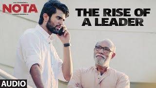 The Rise Of A Leader Full Audio Song   Nota Tamil   Vijay Deverakonda   Anand Shankar   Sam C.S.
