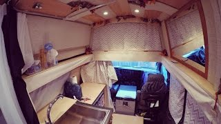 Girl builds a camper van - 32 months in 4 minutes