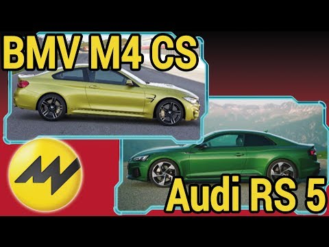 BMW M4 CS vs Abt Audi RS 5 im Test | MOTORVISION TV #SPOTTED