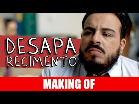 Making Of – Desaparecimento