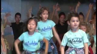 Шоу группа Аладдин.Зажигательный танец от студии Аладдин!