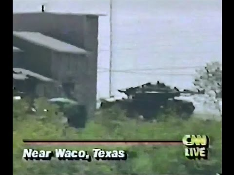 Waco Massacre CNN Coverage