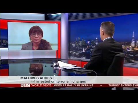 Mariya Didi Interview with BBC World News 22/02/15