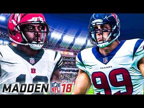 Madden NFL 18 - All Madden Gameplay Impressions (Franchise Mode)